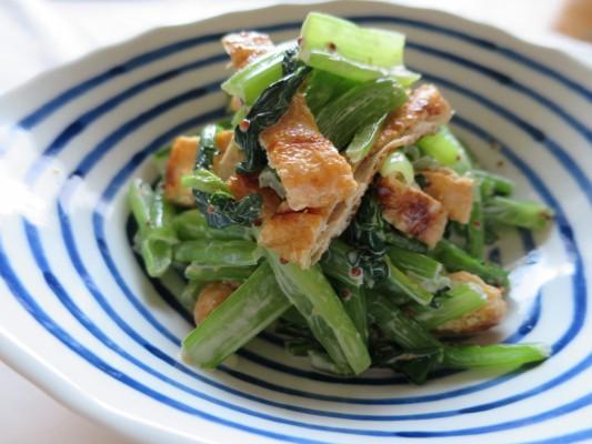 小松菜味噌マヨ