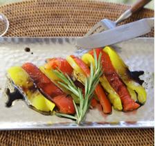 パプリカのオーブン焼き バルサミコ風